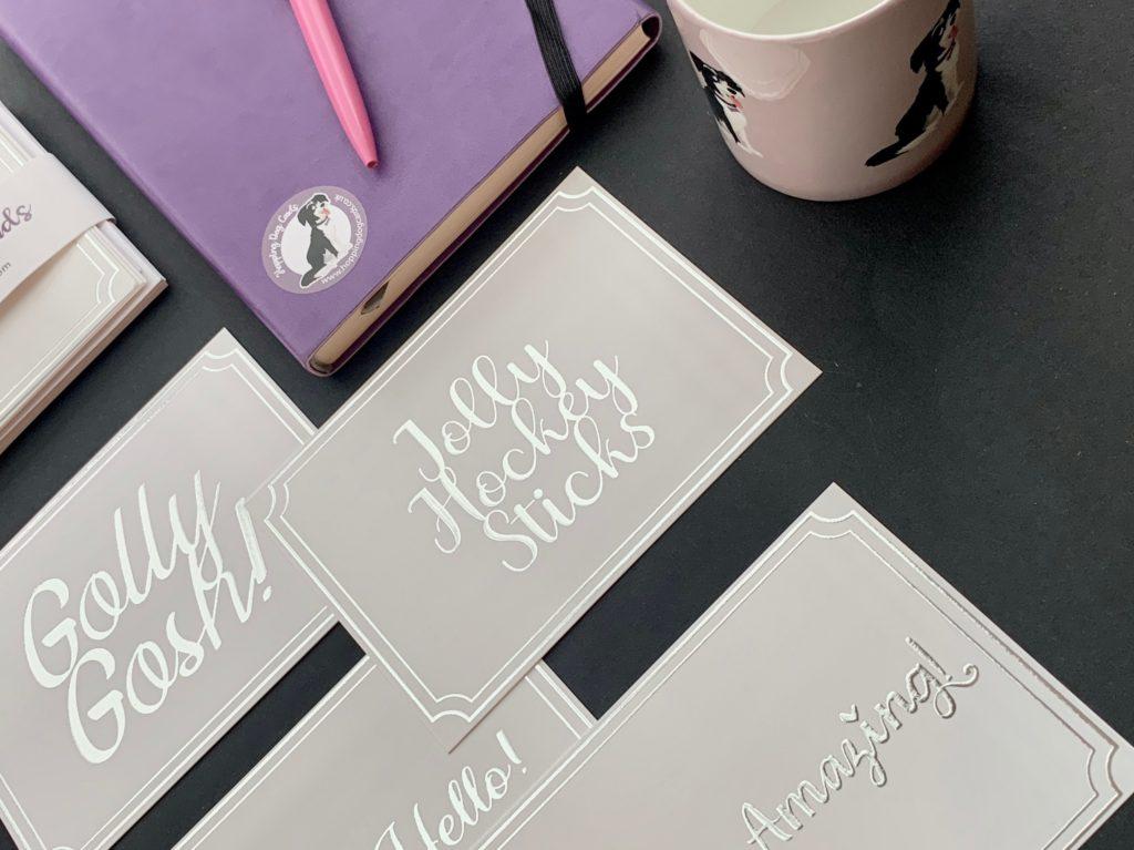 Silver Scodix Foil Printing